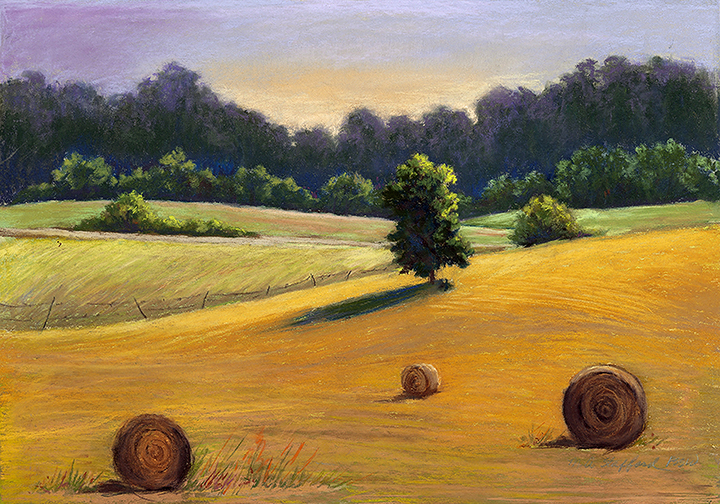 "Mary Ann Stafford, ""Farm Land"""