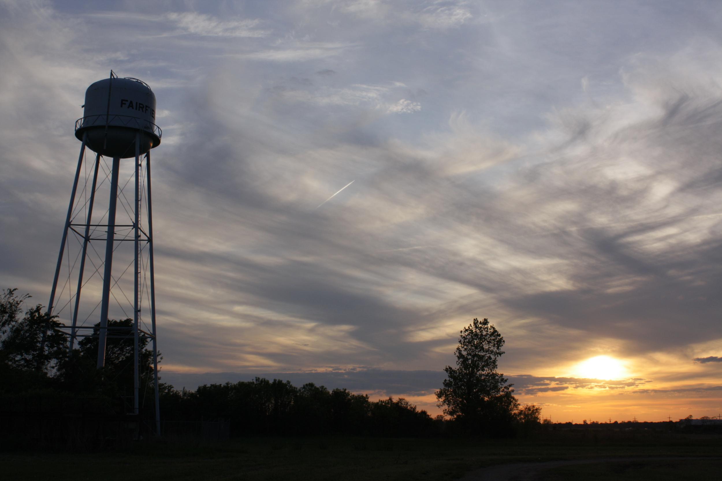 Melissa Abernathy  Fairfield Water Tower # 1