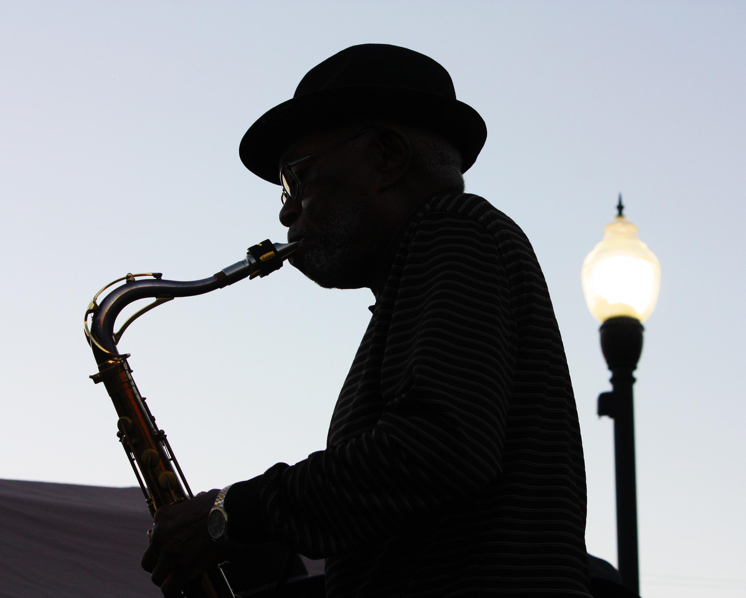 Anita Walden  Delta Saxophonist at Hot Tamale Festival