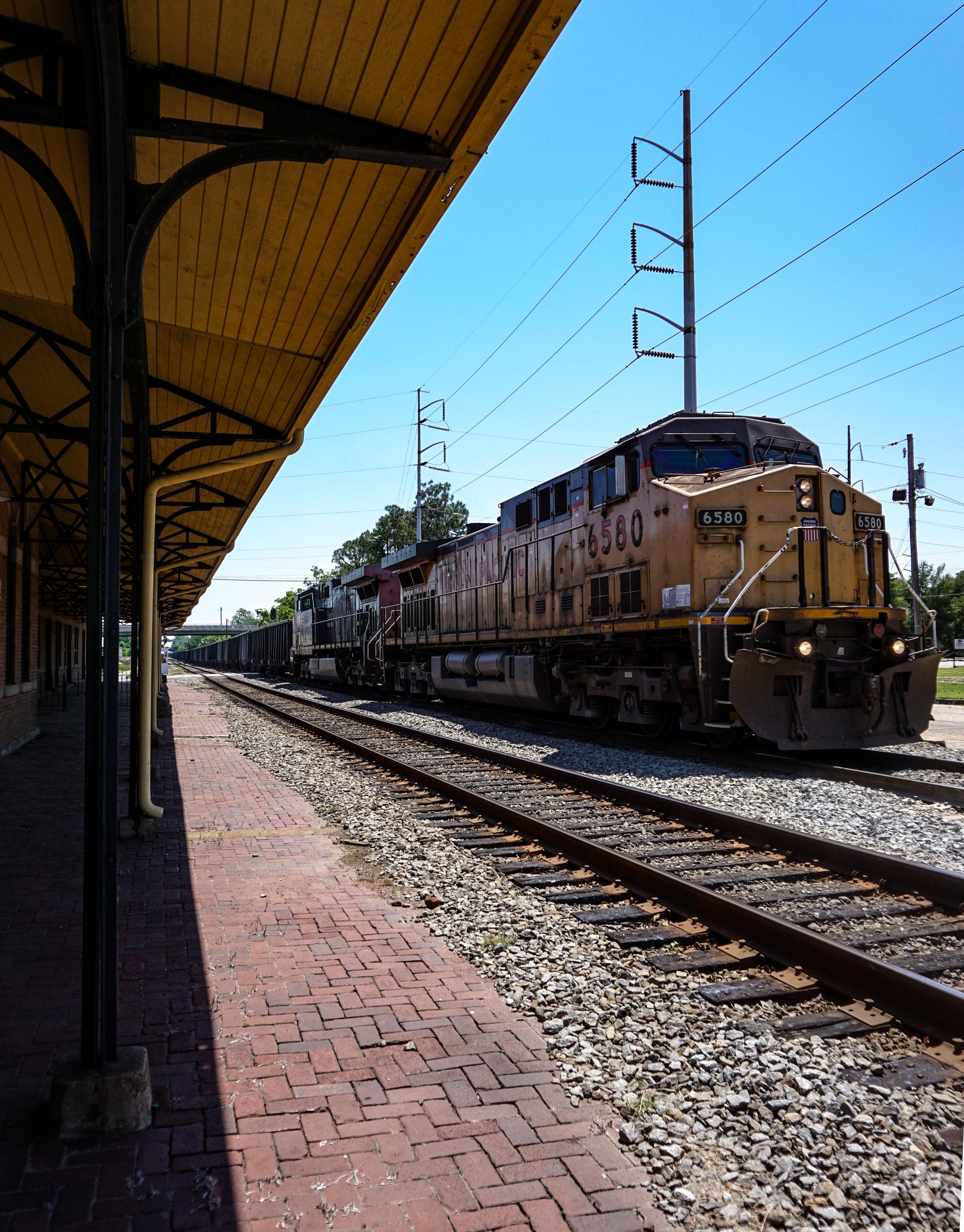 Tim Davis  Pine Bluff Train Depot
