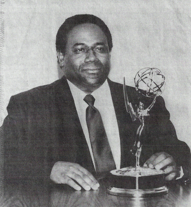 Byron Vaughns won an Emmy in 1993 for directing  Tiny Toon Adventures , which was named Outstanding Animated Program. IMAGE COURTESY BYRON VAUGHNS