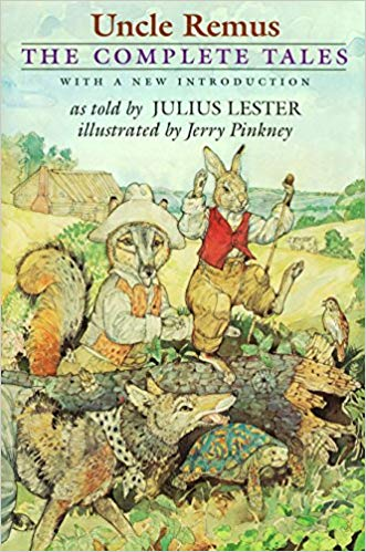 Dr. Julius Lester's 1999 book,  Uncle Remus: The Complete Tales , was a retelling of folktales made popular in the late 1800s by Joel Chandler Harris.