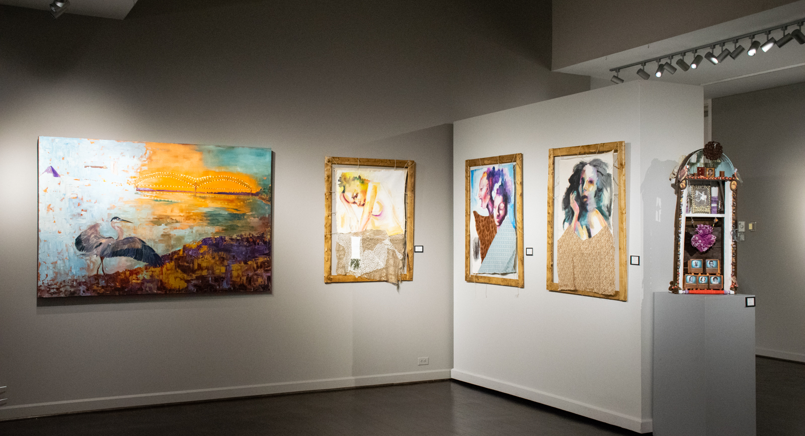 69ee3371bd33 Jeannie Stone, Angela Johnson Davis, and Suzannah Schreckhise are three of  the artists featured