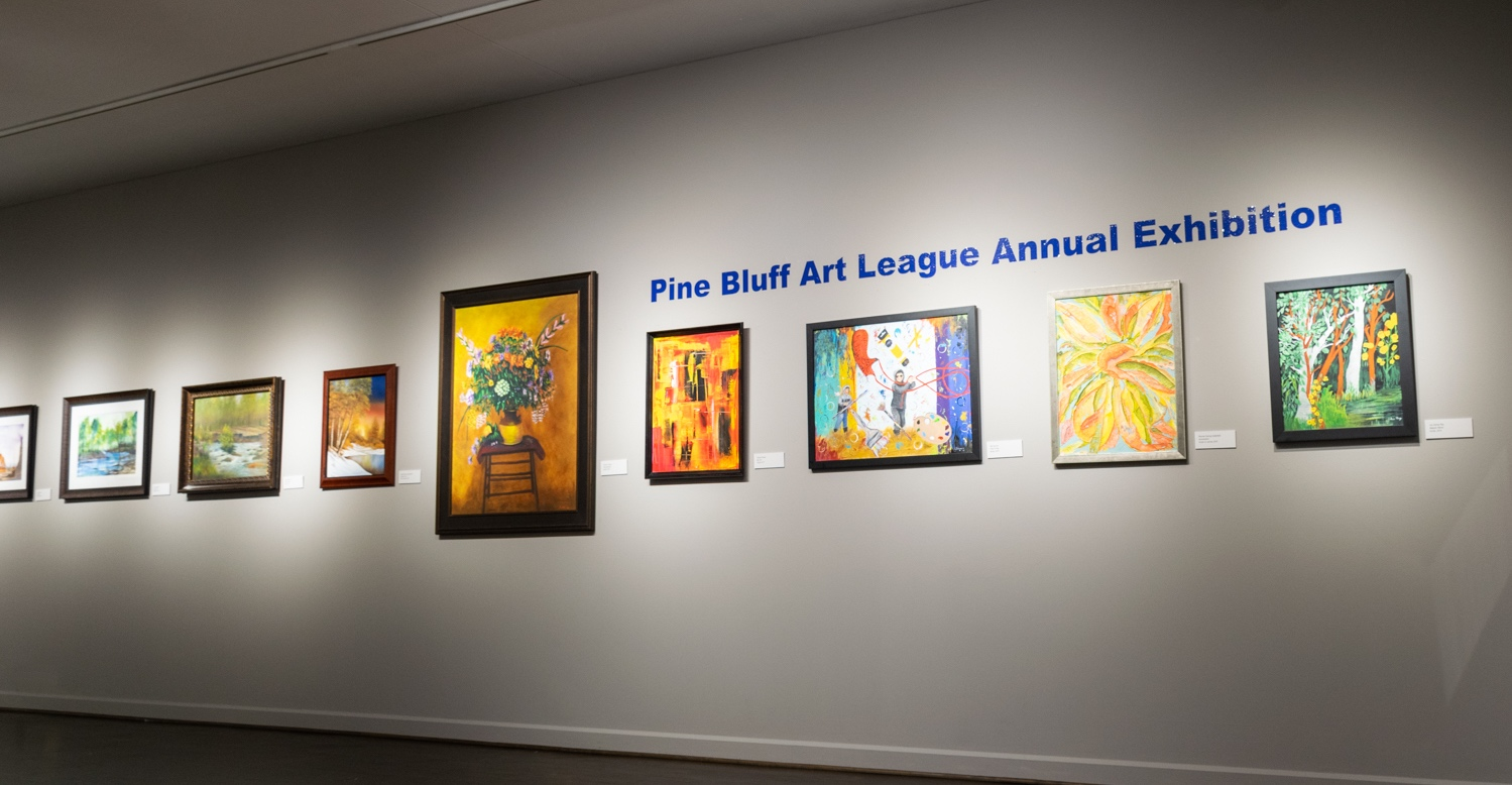 The 2019 Pine Bluff Art League exhibition, opens Thursday, August 8, with a free public reception from 5-7 p.m. Awards will be announced at 5:30.