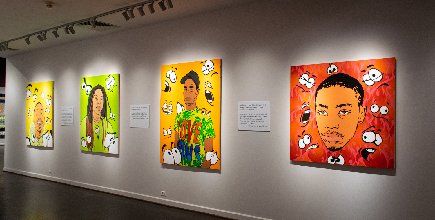 "Chrystal Seawood's ""Boys to Black Men: The Seer is the Keeper of His Dreams"" opens Thursday, Sept. 12, at The Arts & Science Center."