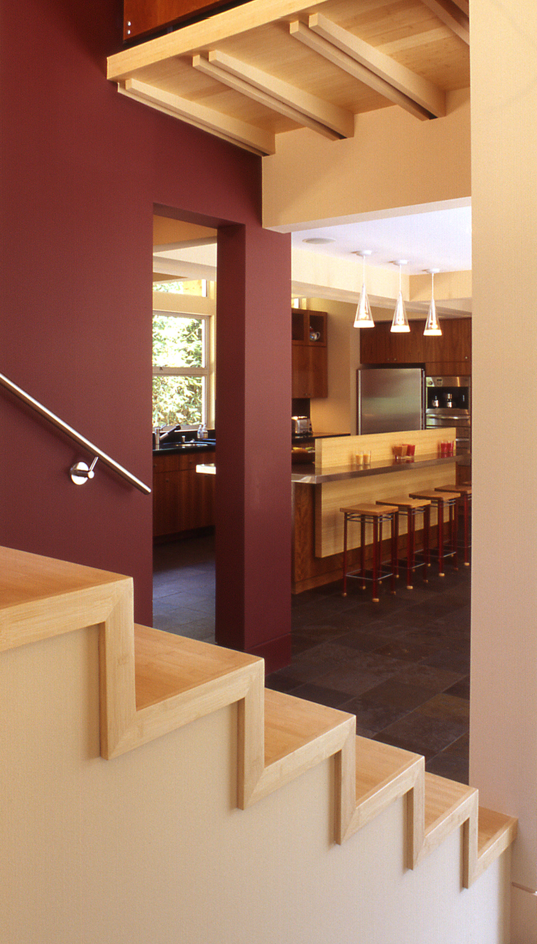 11 - 619 Benvenue Stair-Kitchen.jpg