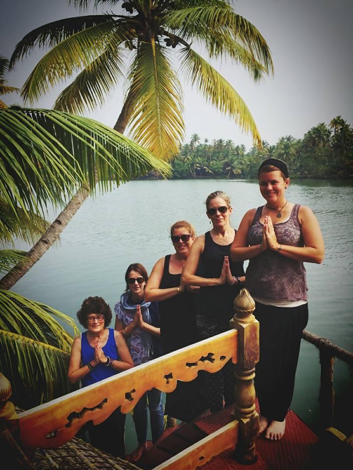 Kerala backwaters cruise, Nov. 2016   ©METTA YOGA 2016