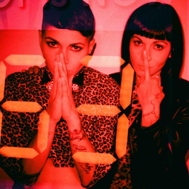 Nicole and Natalie - Nina Sky