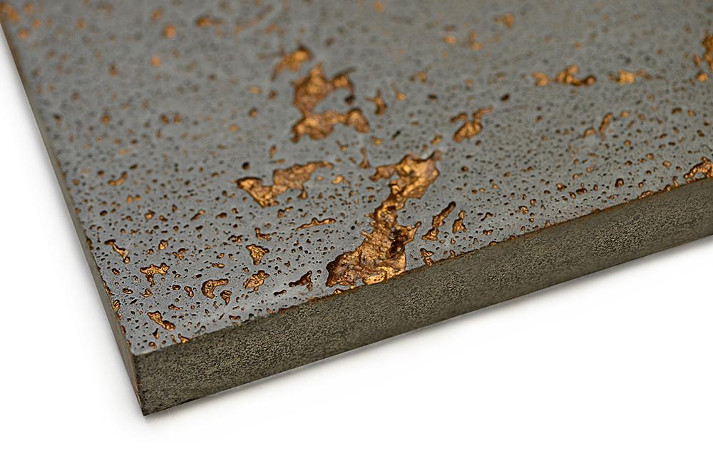 Natural Grey - Copper Inlay