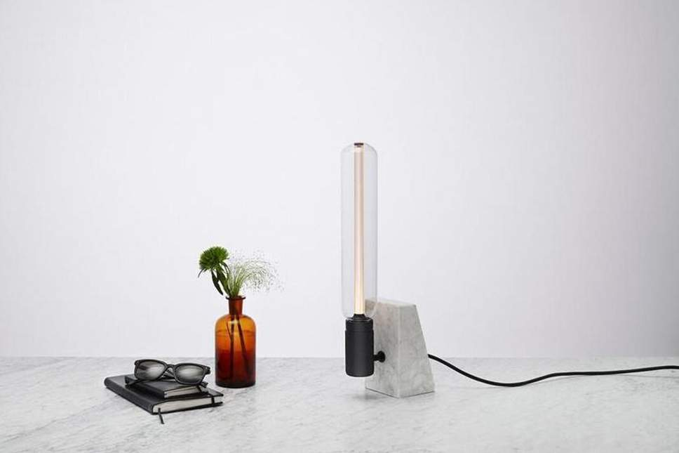 The Stoned Table Lamp by Buster + Punch