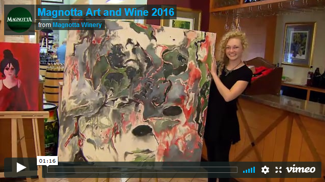 Magnotta Art and Wine Event - Date: August 25, 2016