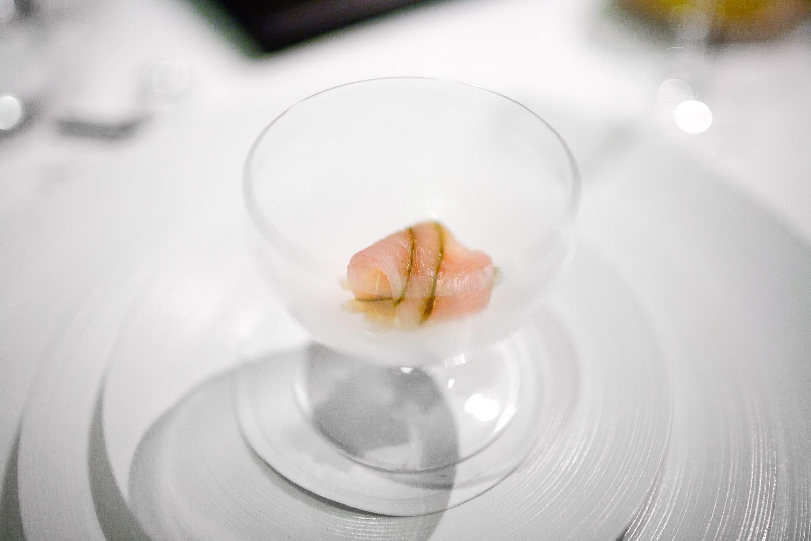 3rd Course- Sashimi of pacific kahala