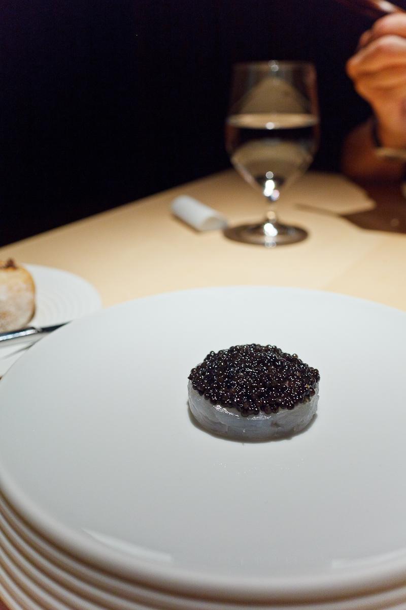 L2O, Chicago - Fluke, shiso, caviar