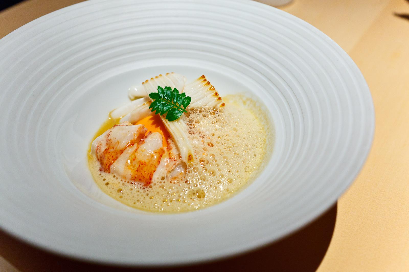 L2O, Chicago - Lobster, foie gras, surume ika
