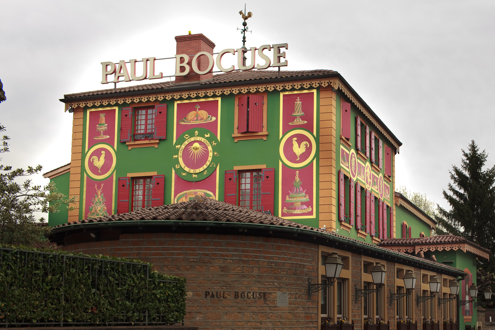 Paul Bocuse - Exterior of Restaurant