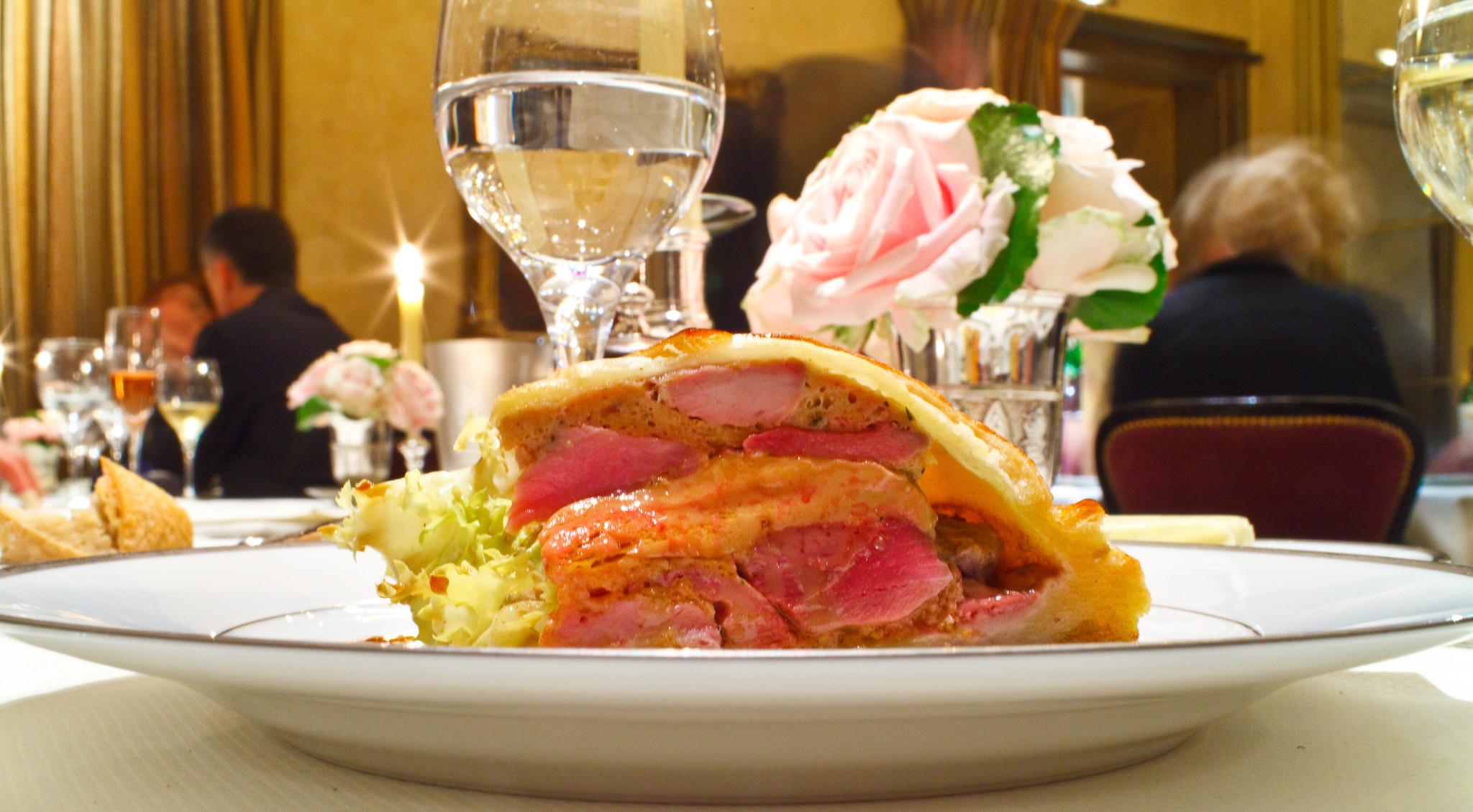 Tourte de canard et foie gras