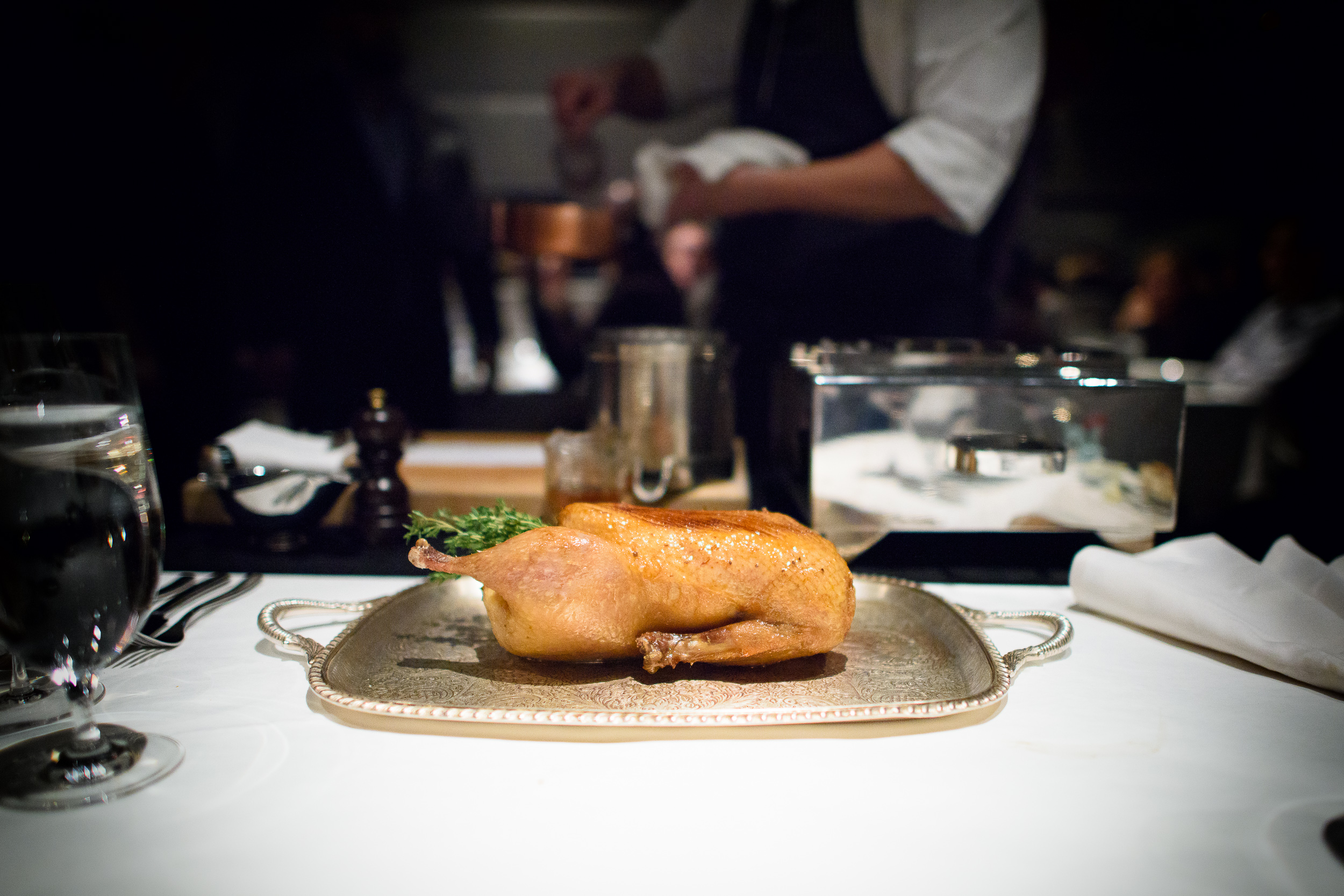 11th Course: Whole roasted duck
