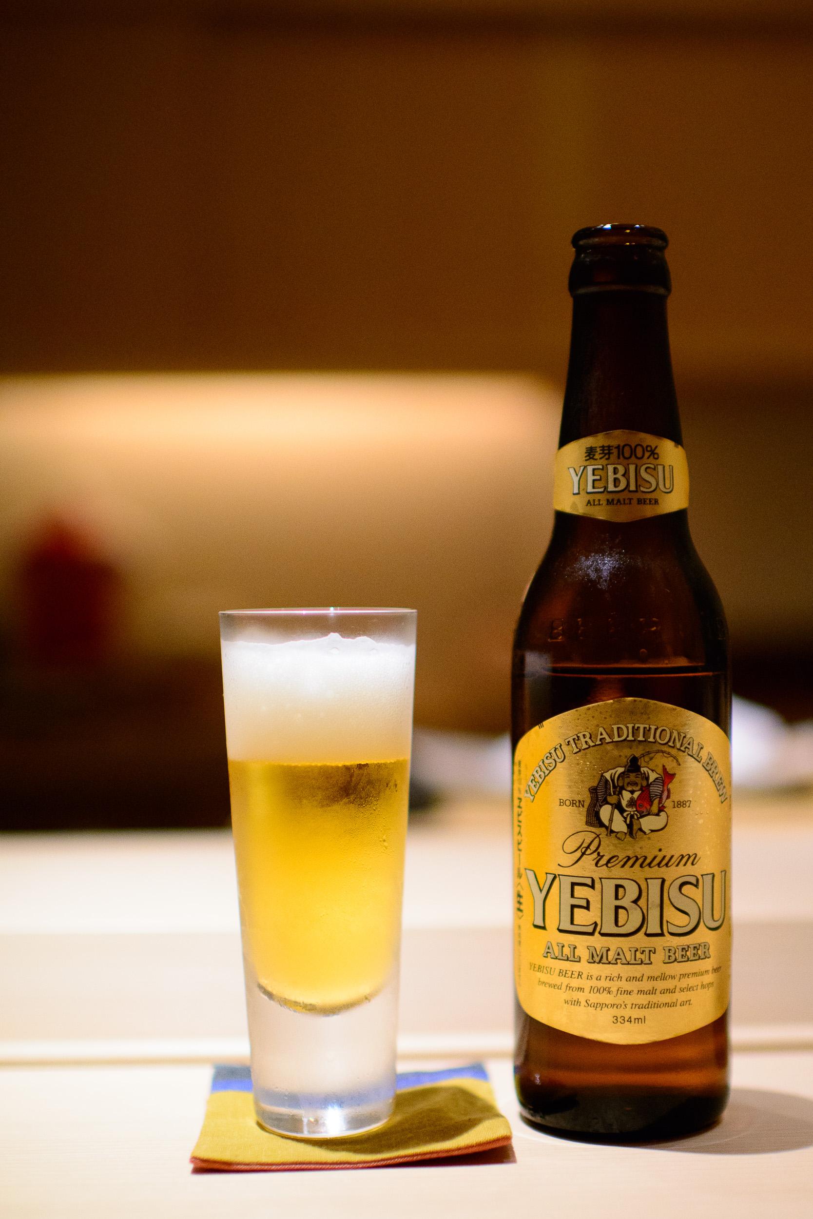 Yebisu Beer