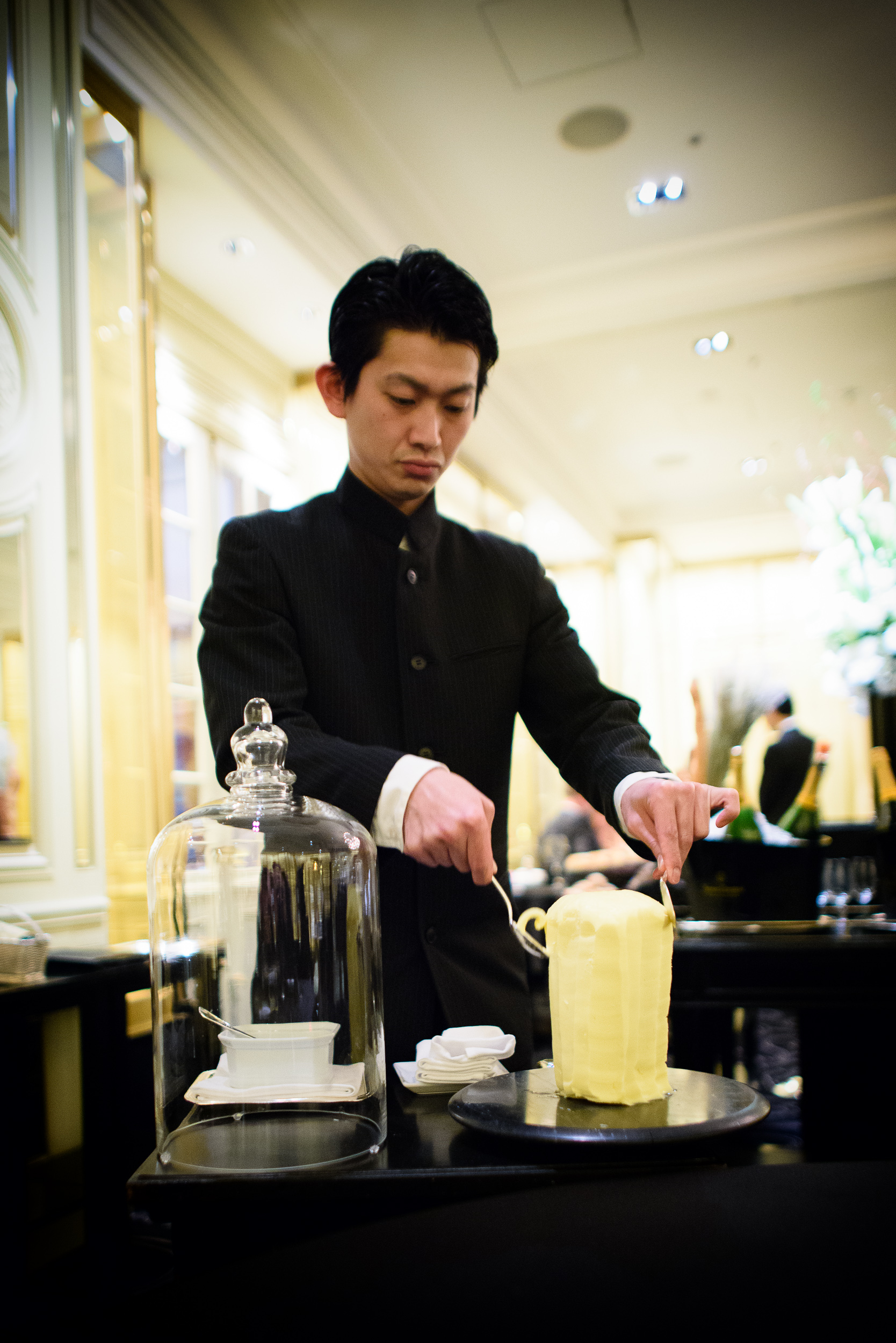 Table-side butter service