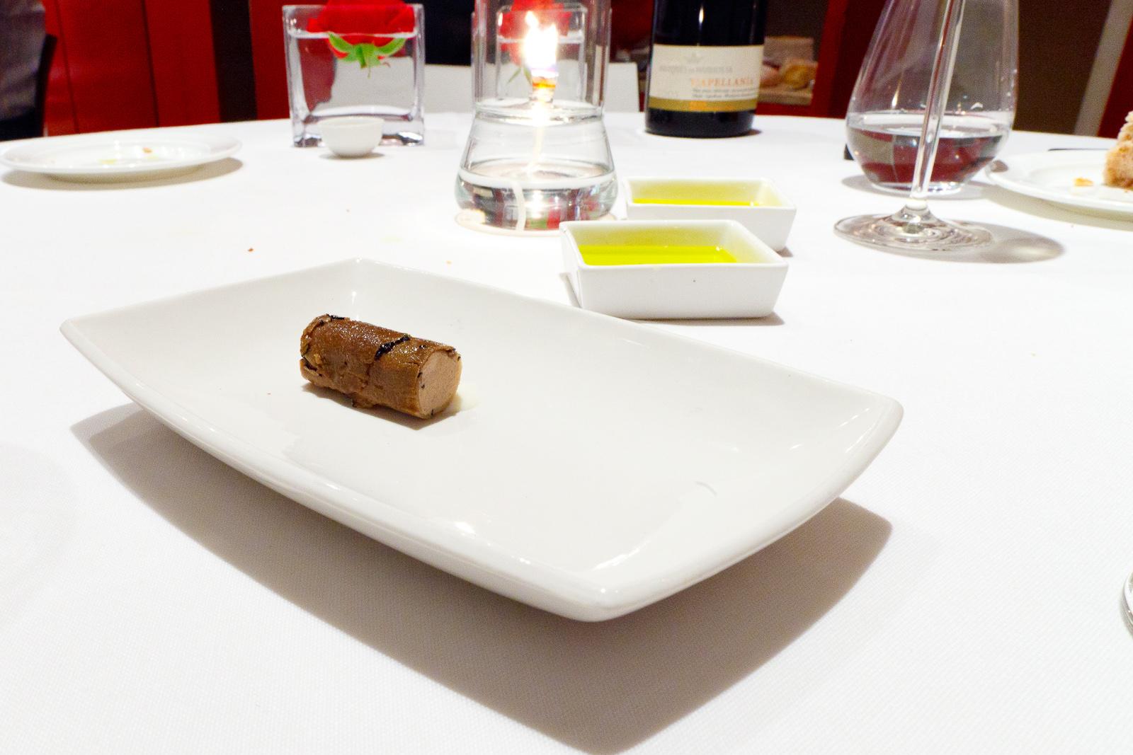 Hisop, Spain - Rabbit terrine and summer truffle