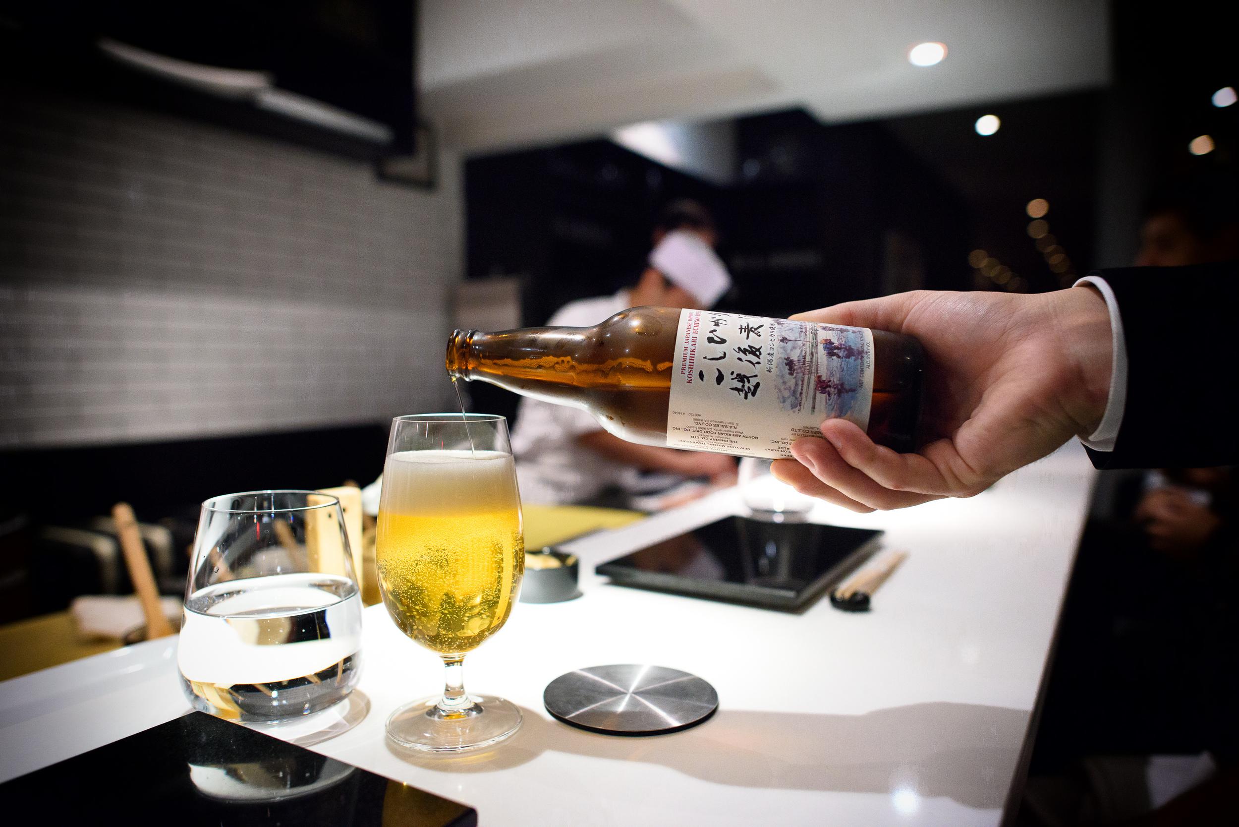 Koshikari Echigo Beer