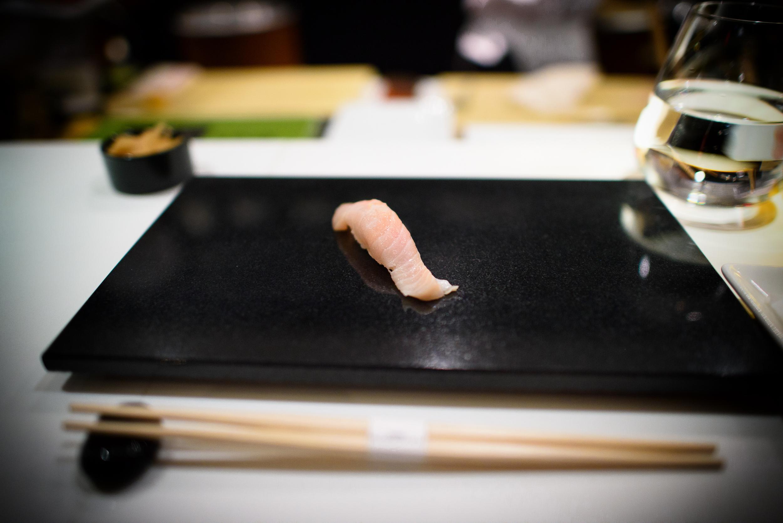 1st Course: King Salmon