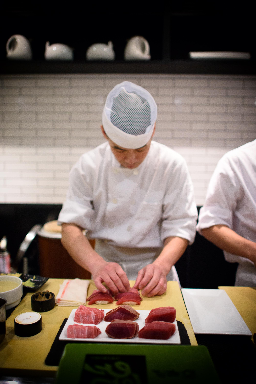 14th, 15th, and 16th Courses: Tuna