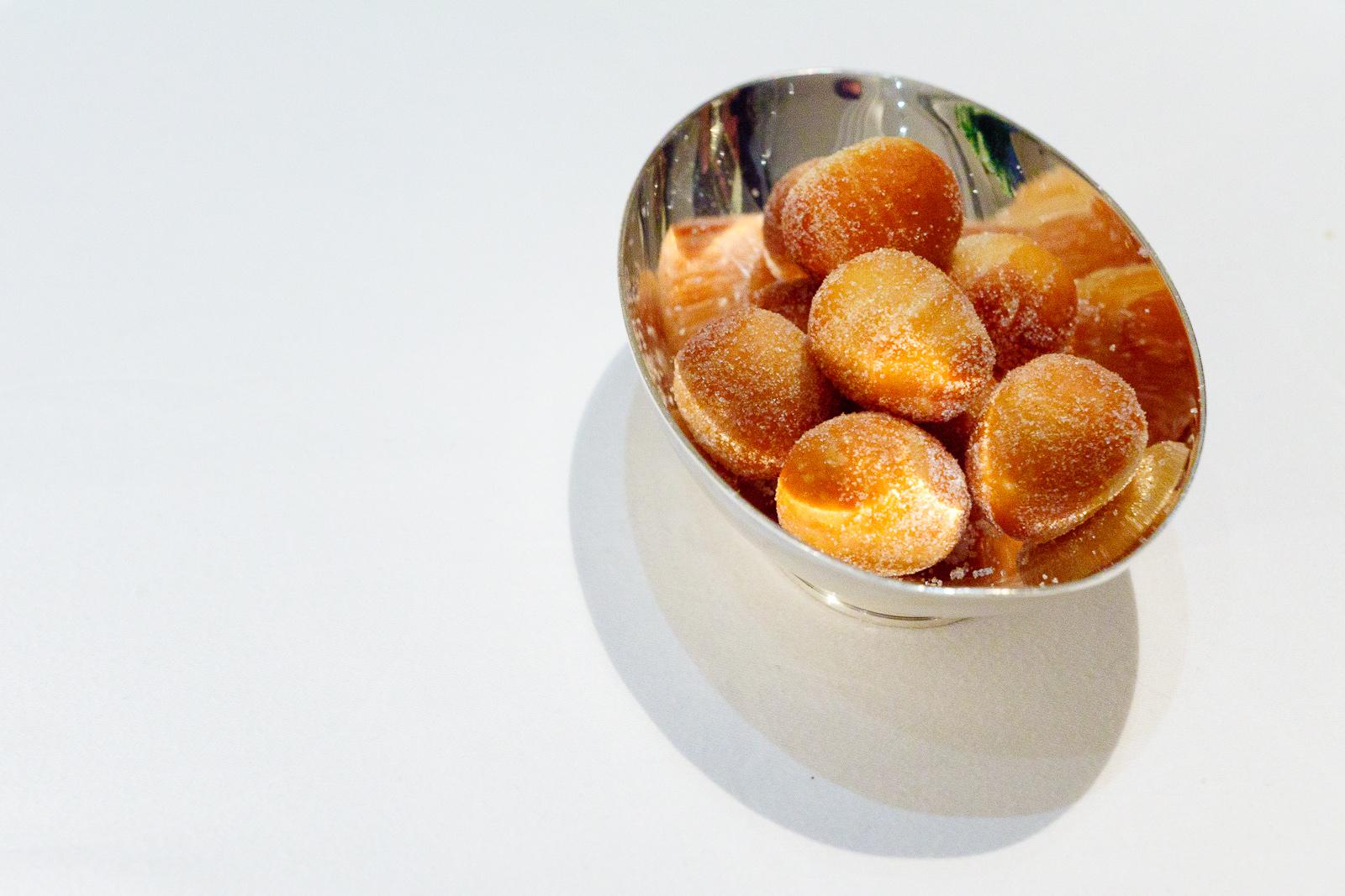Warm beignets