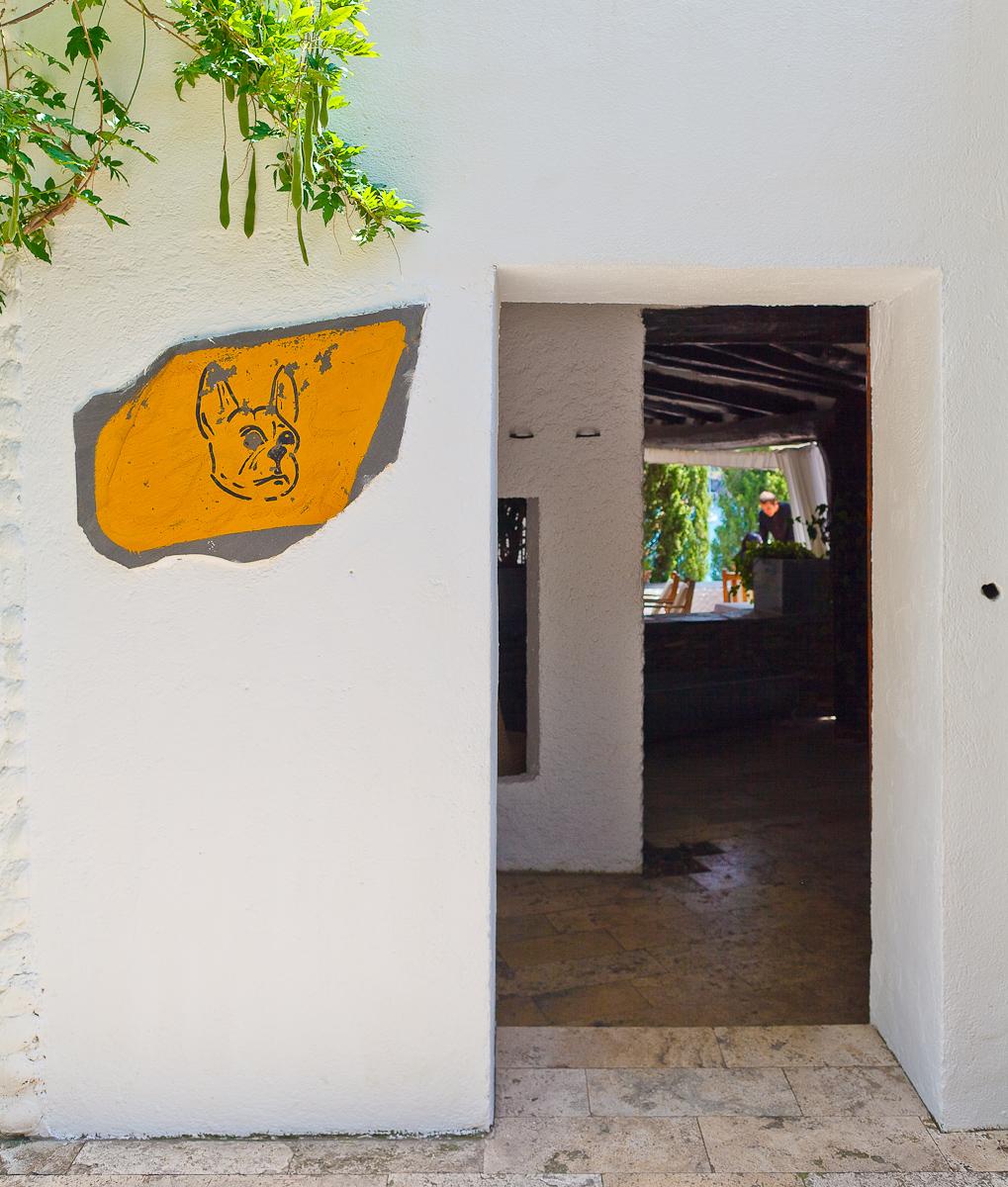 El Bulli, Spain - Entrance to El Bullí