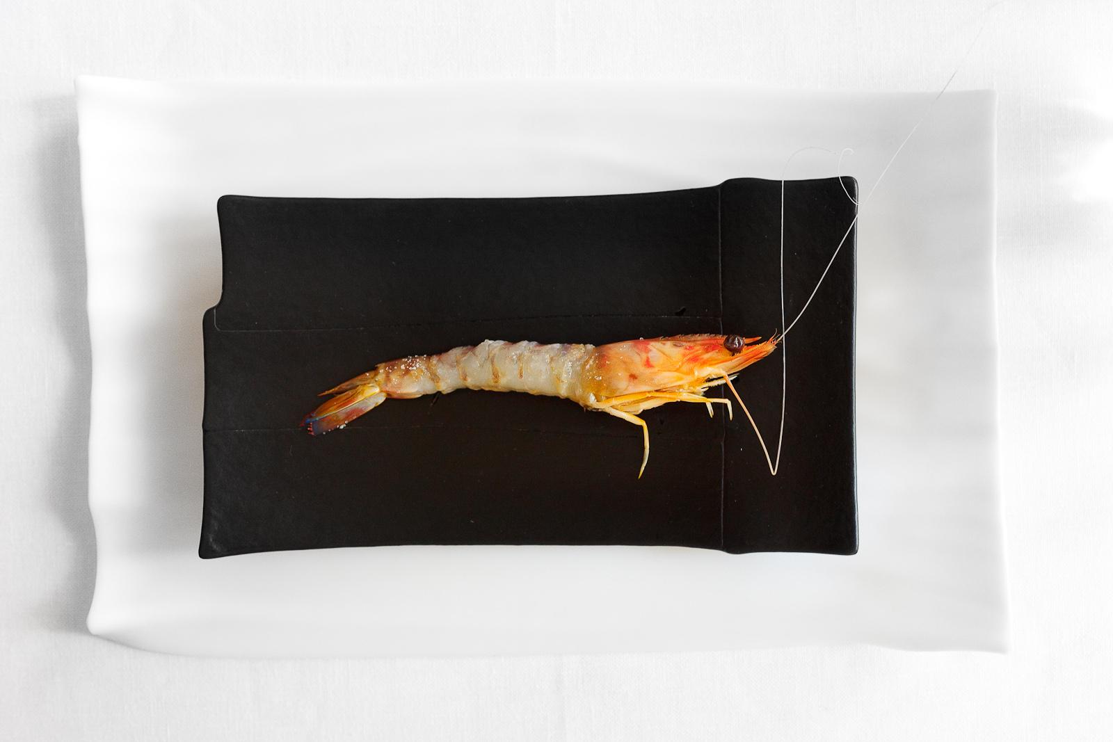 El Bulli, Spain - 12th Course: Boiled shrimp