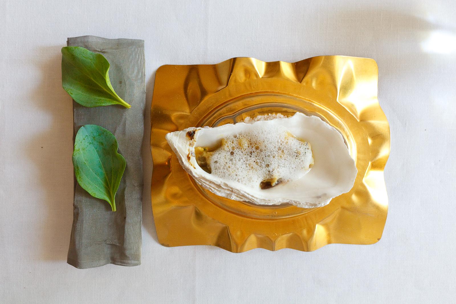 El Bulli, Spain - 20th Course: Oysters and bone marrow tartar