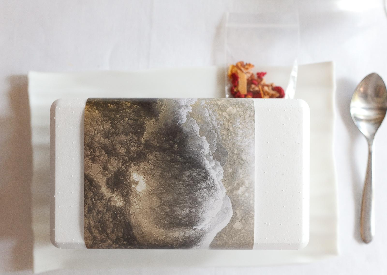 El Bulli, Spain - 21st Course, Part I: Parmesan frozen-air with museli