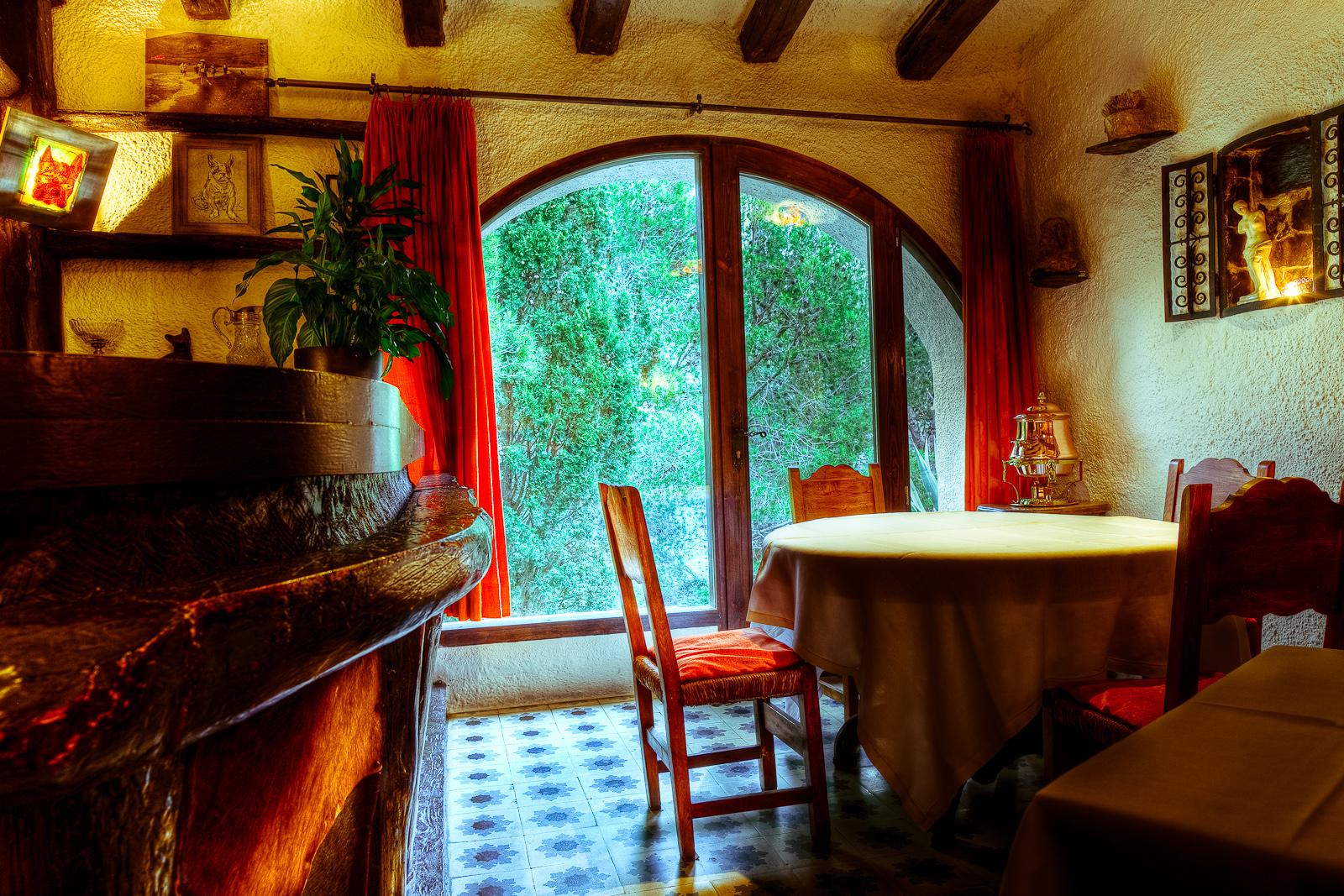 El Bulli, Spain - Our table.