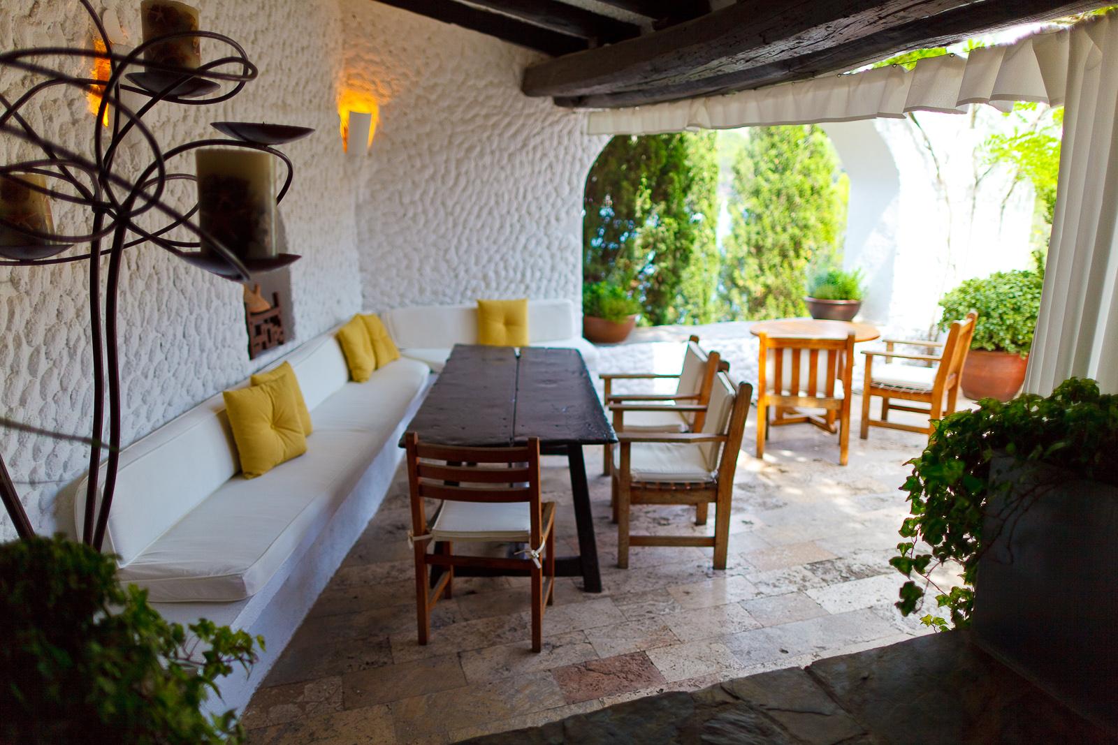 El Bulli, Spain - Terrace corner seat