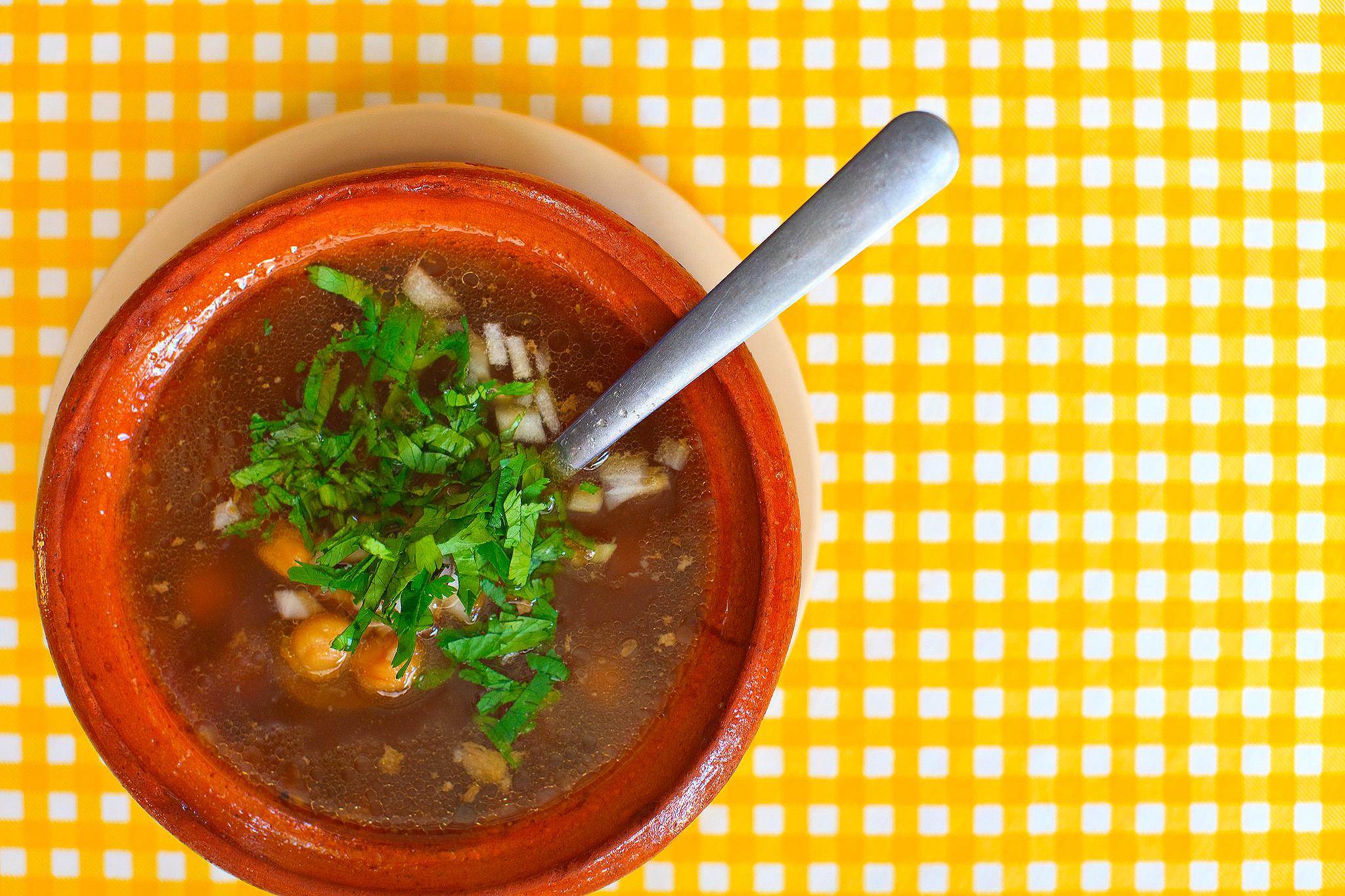 Barbacoa Vicky, San Jose del Cabo - Consomme de borrego