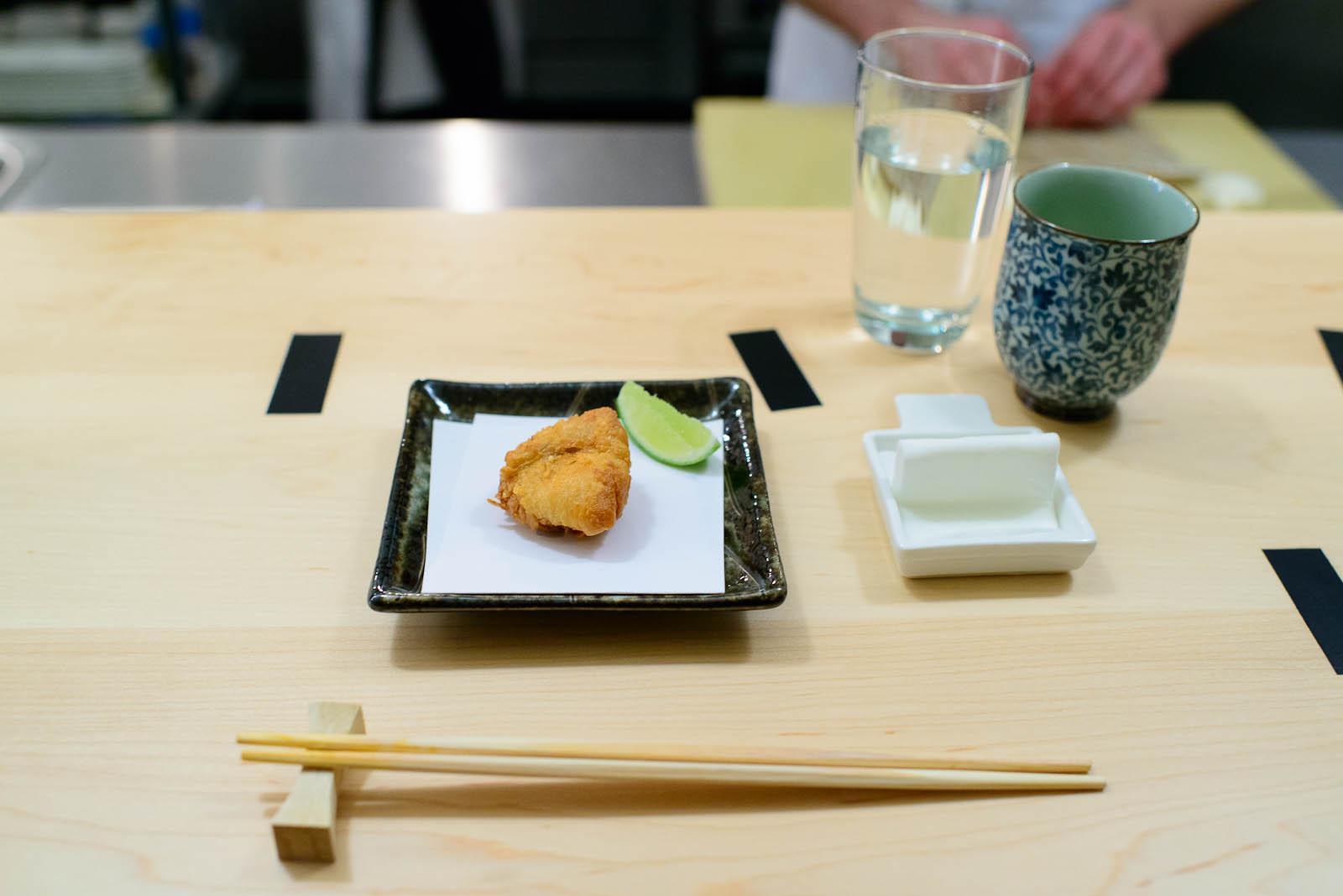 4th Course: Deep-fried blowfish