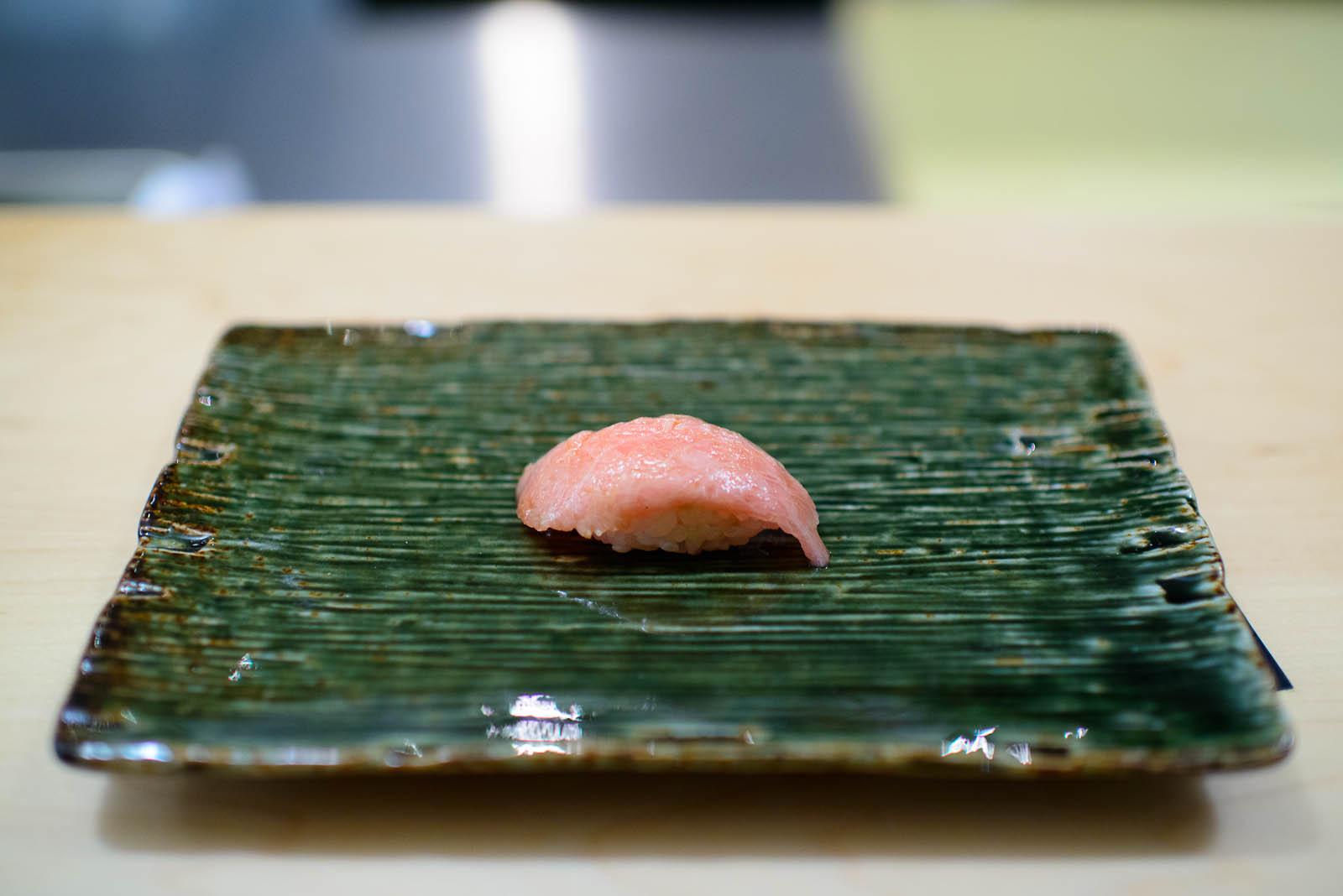 6th Course: Fatty tuna