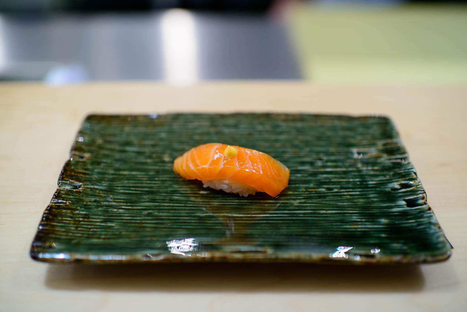 9th Course: Scottish salmon
