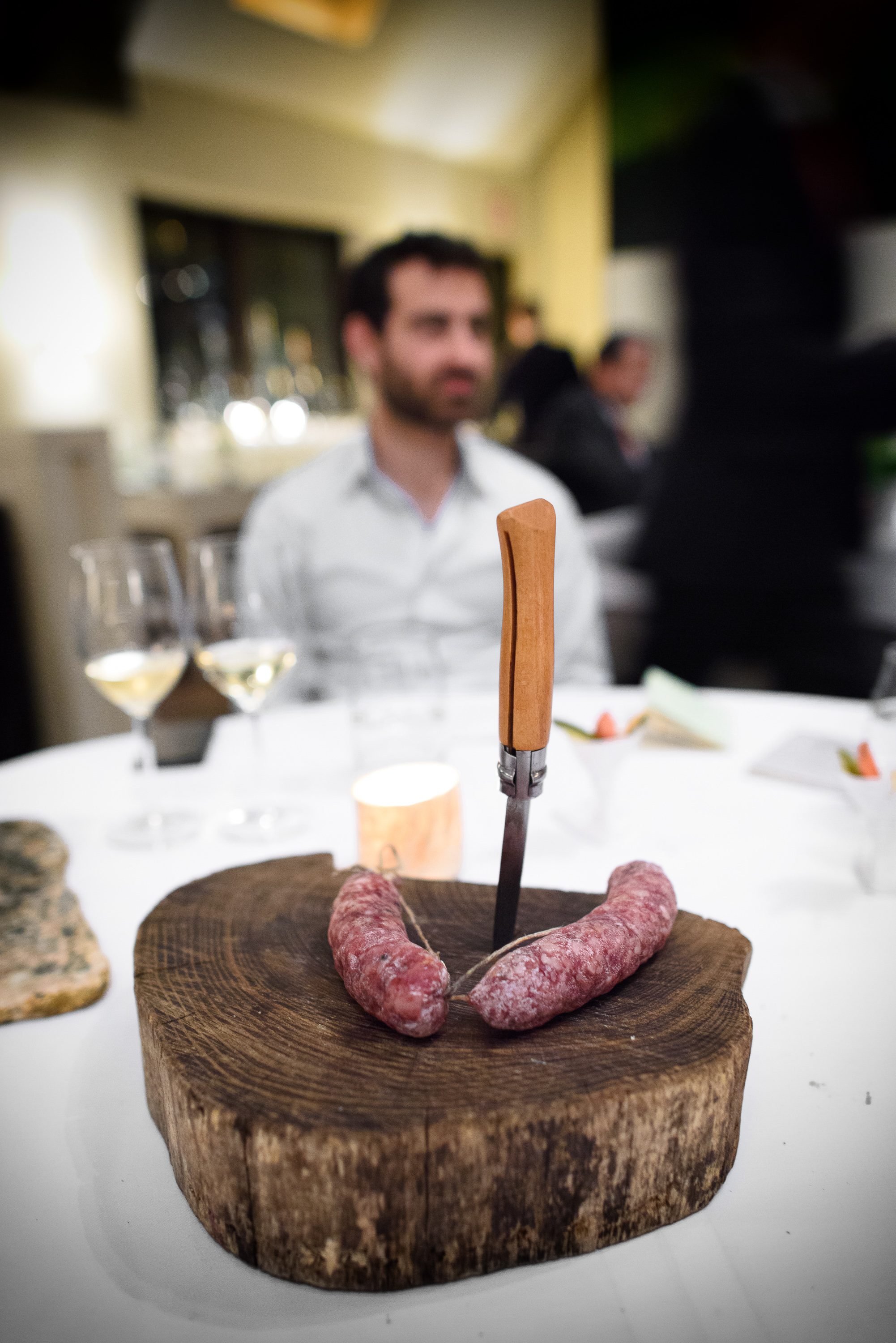 House-cured sausage