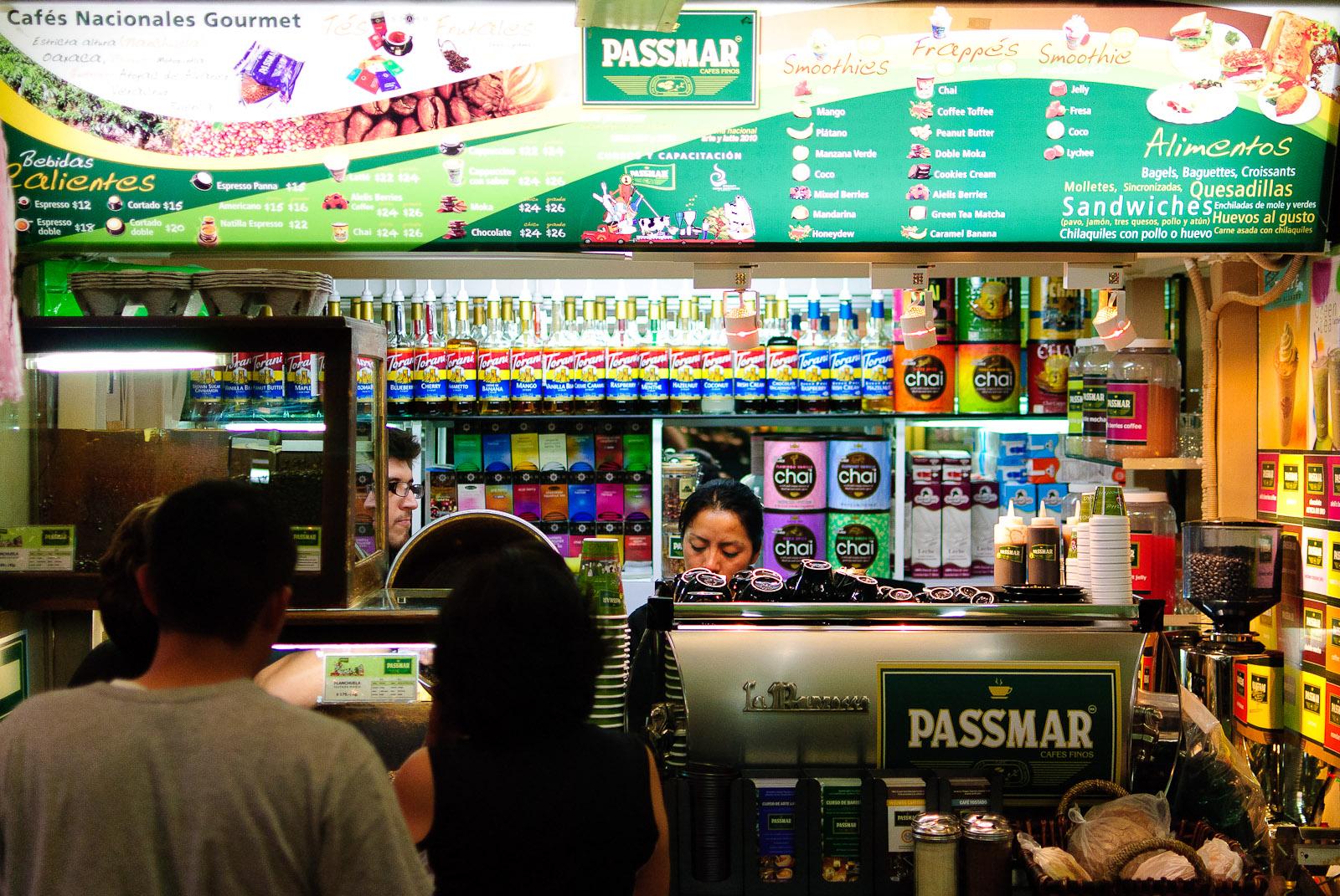 Cafe Passmar - Storefront