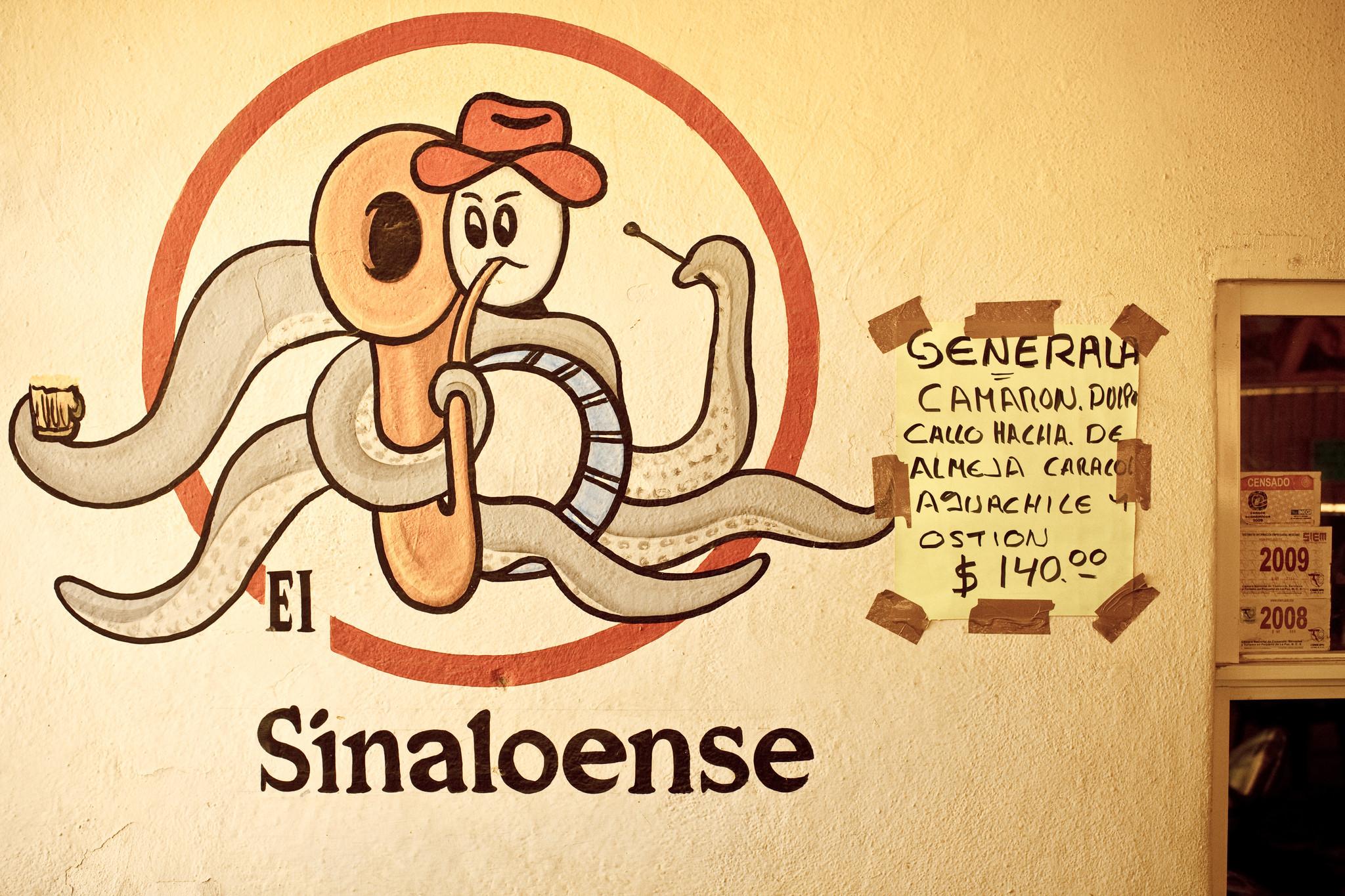 Mariscos el Sinaloense, San Jose del Cabo - El restaurante