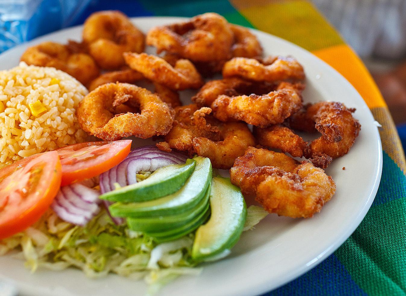 Mariscos el Sinaloense, San Jose del Cabo - Camarones empanizados