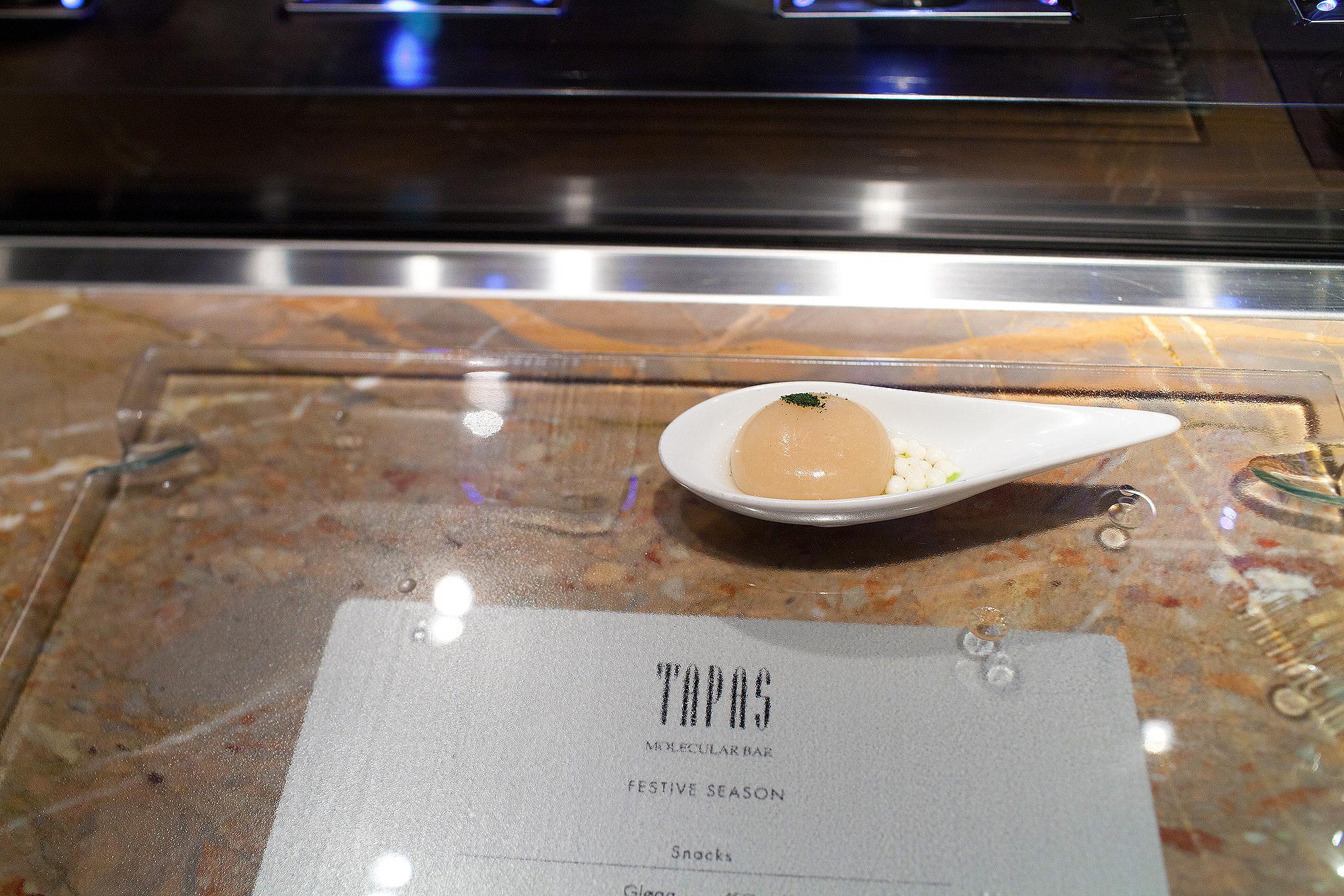 Tapas Molecular Bar, Tokyo - Miso Soup