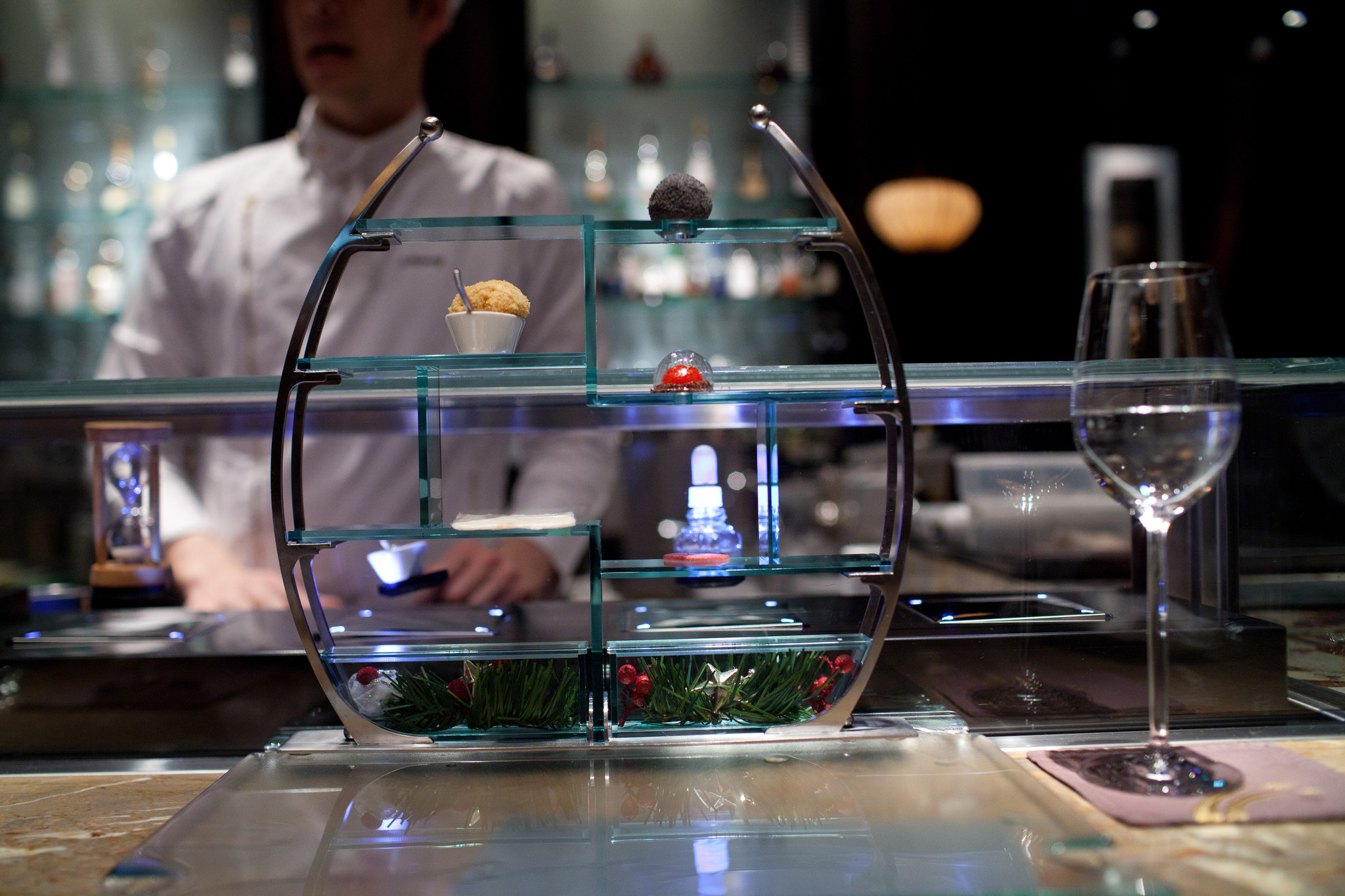 Tapas Molecular Bar, Tokyo - Mont Blanc, Chocolate Truffles, Sacher Torte, Cinnamon Toast