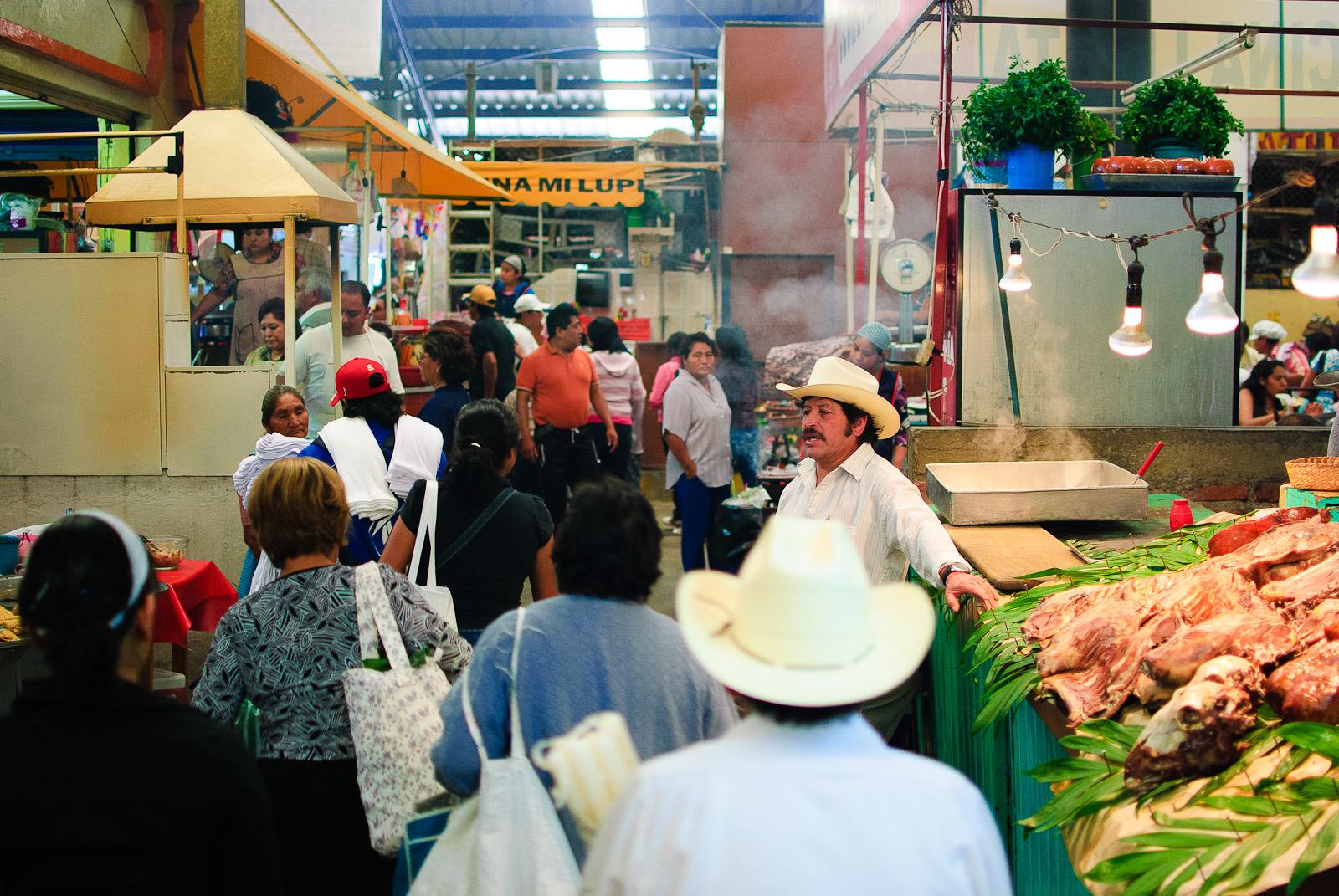 Mercado de Cholula - Centro del Mercado