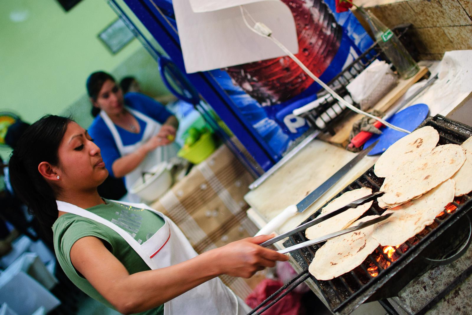 Mercado de Cholula - Tortillas