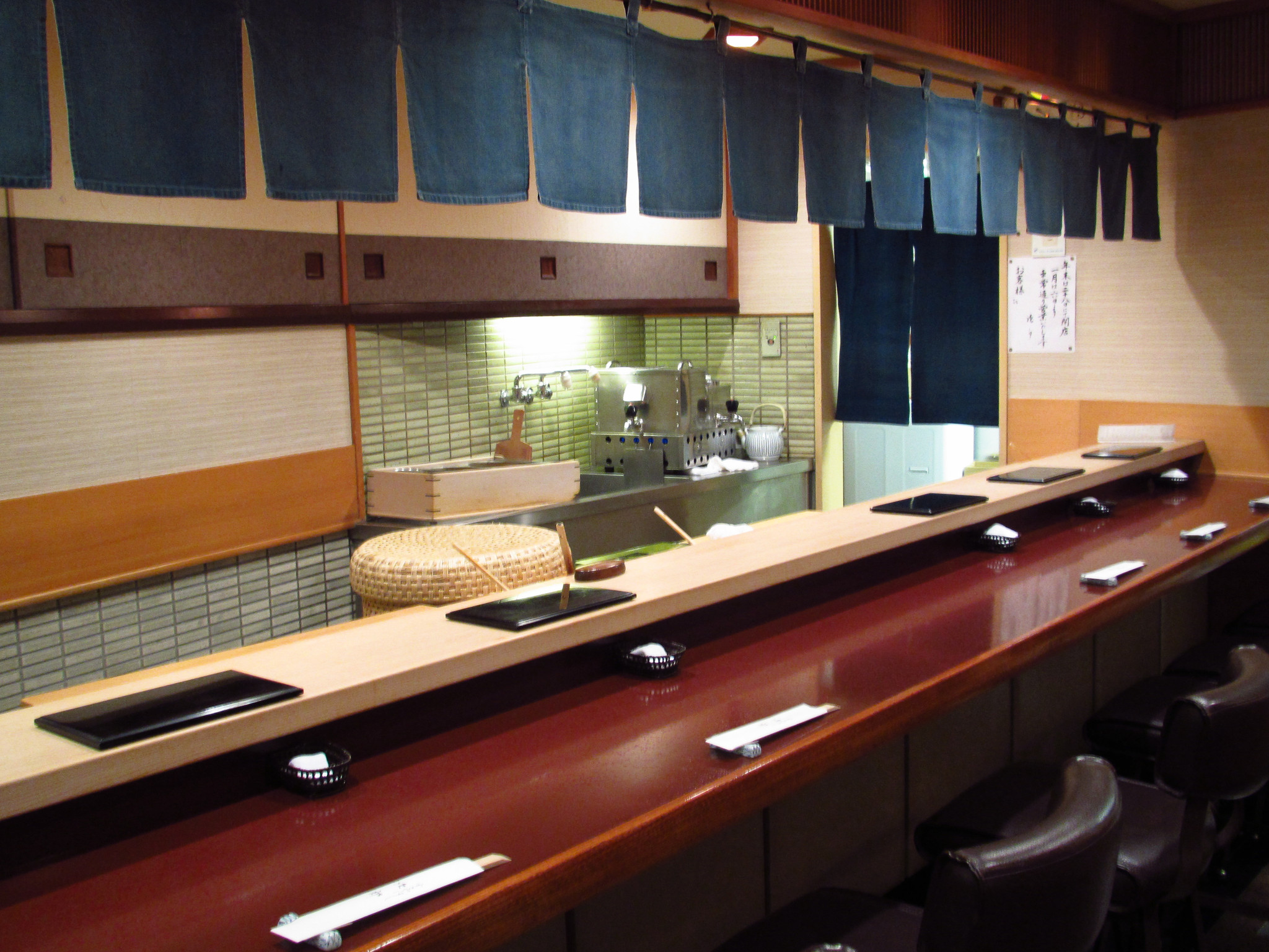 Sukiyabashi Jiro, Ginza, Tokyo - Sushi Counter