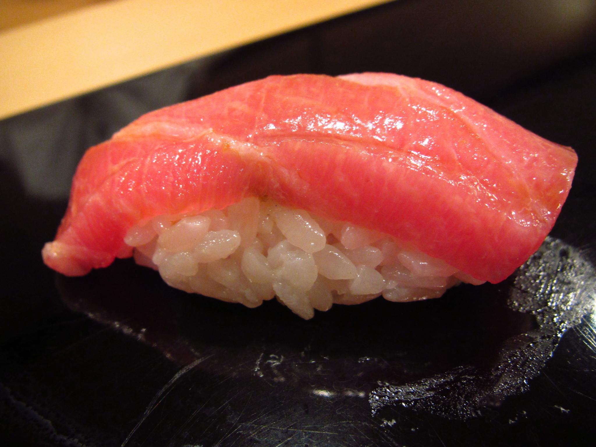 Sukiyabashi Jiro, Ginza, Tokyo - Oo-toro