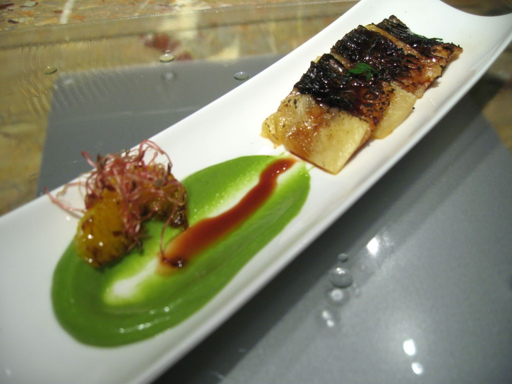 Tapas Molecular Bar - Unagi and Pineapple Miso
