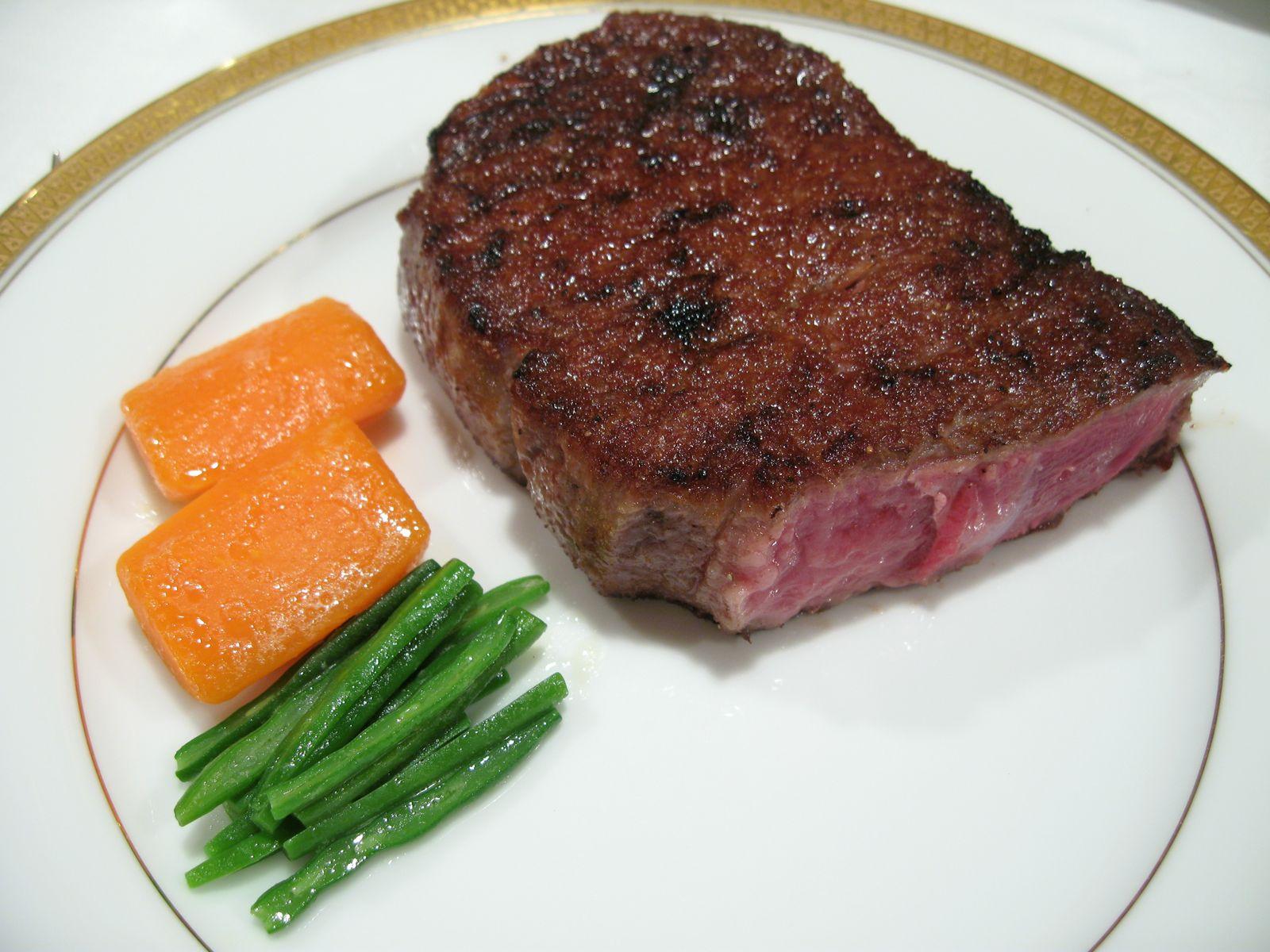 Half a slice of 16oz Kobe Beef